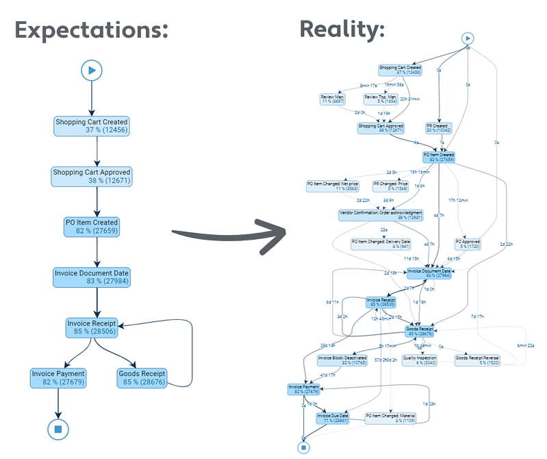 process expectations and reality