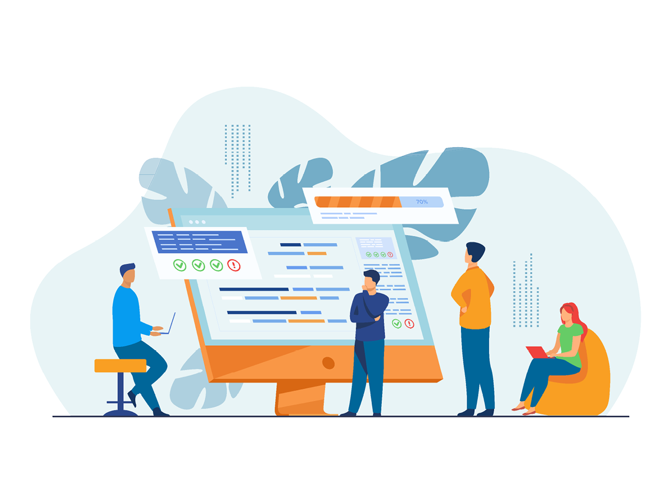 software-developers-observing-data-compliance